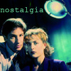 kaydeefalls: s1 mulder/scully posed shot (the good old days)