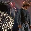 kaydeefalls: fireworks exploding behind ennis (bang!)