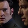 kaydeefalls: shocked!ianto looks over at jack (ianto & jack)