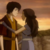 kaydeefalls: sweet zuko/katara moment at sunset (katara/zuko)