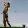 januar: Ronon from Stargate Atlantis golfing one-handed ([misc] hard core golf)