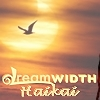 jjhunter: DW logo and word 'haikai' superimposed over image of bird flying across sun and warm-colored sky (dreamwidth haikai bird)