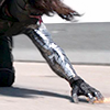 musesfool: Winter Soldier three point stance (let's be killers babe)