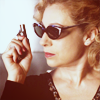 timeasmymeasure: side-profile shot of river song from doctor who (river: bamf)