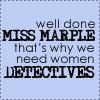 fizzbuzz: (Miss Marple)