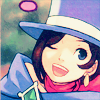redconfession: ([Phoenix Wright] Trucy Happy)