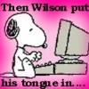 barefootpuddles: Snoopy is a H/W fan (Snoopy is a H/W fan)