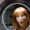 redknightalex: ([DW] Donna Surprised Through Glass [PiC])