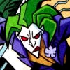 onewhitecrow: Joker from The Batman series, uncharacteristically frowning (frown)