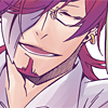 sincere: DGM: Cross is smiling faintly (somehow sentimental ;;)