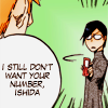 "sincere: Bleach: ""I still don't want your number, Ishida."" (social fail ;;)"