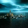 athanasy: atlantis at dusk, deep blues, from web unknown (atlantis, blue)