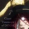 attie: Cross with a giant Timcanpy of DOOM on his head. (dgm - giant timcanpy of doom)