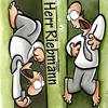 attie: Herr Riebmann (the guy who lives in the wall) from notfunny comics. (nichtlustig - herr riebmann)