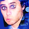 attie: Jared making a silly face. (30stm - jared um?)