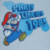 attie: Mario: party like it's 1985! (geek - 1985 party)