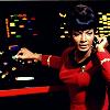 attie: Uhura manning the communications station. (st - uhura at work)