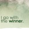 idontlikegravy: (winner)
