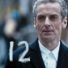 capriuni: Peter Capaldi as the 12th Doctor in a street scene, with a handwritten 12 (12)