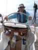 davidgillon: Me, at the wheel of a yacht (Sailing)