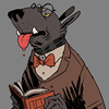 awarewolf: (pretentious quote)
