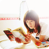 amihan: korean singer yozoh reading a publication ([yozoh] read)
