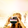 amihan: dichen lachman as sierra holding a polaroid camera ([dollhouse] sierra (camera))