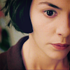 amihan: audrey tautou as amelie poulain in 'amelie' in a dark red top ([amelie] red)