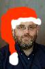 sraun: Hallowed Hunt Cover (bad santa hat portrait)