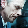 st_aurafina: Close up of the Twelfth Doctor looking down (DW: Twelve blue)