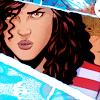 st_aurafina: America Chavez looking fierce (Marvel: America Chavez)