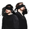 akamine_chan: James and Frank blindfolded (Death Spells - blindfold)