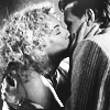tellitslant: river & eleven kissing (dw - river/eleven - tradition)