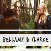 bellarke: bellamy and clarke (Default)