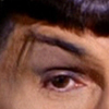 corylea: I'm pretty sure you know whose eyebrow this is. :-) (Eyebrow)