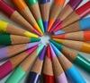 marinarusalka: color pencils arranged in a circle (marinarusalka: drawing)