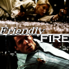 skieswideopen: Kara Thrace shoots Lee Adama (BSG: Friendly Fire)