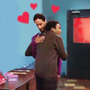 thingswithwings: troy and abed hug with little hearts above their heads (comm - troy and abed hug with hearts)