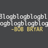 ext_16747: Bob Bryar blogs (Default)