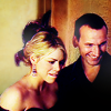 amihan: medium shot of billie piper as rose tyler and christopher eccleston as the ninth doctor in 'doctor who', both smiling ([doctor who] nine/rose (happy))
