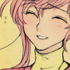 love4loveless: [Ah, no, Yuiko didn't say anything! Let's go!] (A slightly awkward smile.)