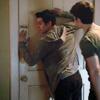 voluntaryapnea: (thrown against the door)