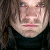 disassembles: close, staring, neutral, winter soldier, or winter smolder? (obligatory shirtless icon)