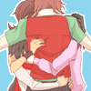 gnome: (Gundam 00 - group hug)