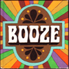 """maevele: stylized word """"booze"""" (booze)"""