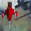 kaberett: A painting of a ship, taken from the cover of Ann Leckie's novel Ancillary Justice. (ancillary justice)