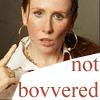 mcity: (not bovvered)
