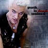 rebcake: Spike: Punk is undead (btvs spike punk)