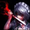 sakuya_izayoi: Art by: spark621 (Red Devil's Maid)