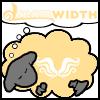 "soc_puppet: [Homestuck] God tier ""Hope"" themed Dreamsheep (Sheep of Hope)"